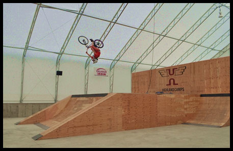 skate park, indoor mountain biking